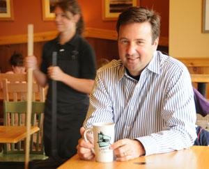 Caribou CEO Mike Tatterfield