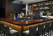The bar area is now larger.