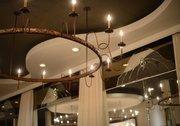 More repurposed lighting.