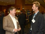Al Jackson (left) and Tobias Kederer, both of Surescripts.