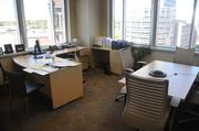 An executive office at Flagstone Foods new headquarters.