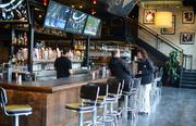 Bar Louie has 7,300 square feet of space on the first floor of theMoZaic building.