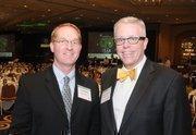 Peder Melin of Wells Fargo & Co. (left) and John Folkestad of Salo.