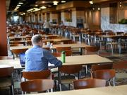 There are three dining rooms at Cargill, totaling nearly 17,00 square feet and seating for 728 people.