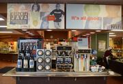 The cafeteria serves City Kid Java. Profits from the coffee sales go toMinneapolis kids in need.