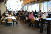The 18,000-square-foot cafeteria has 300 seats and serves about 1,200 Thrivent employees who work in the downtown Minneapolis building.