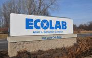 The new training center is located at Ecolab's 90-acre Allan L. Schuman campus