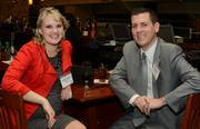 Jamie Yanisch, a public relations specialist at Comcast, and Mike Yanisch.