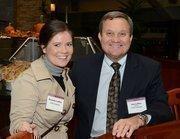 Jim Loffler, CEOof Loffler Cos., with his daughter, Danielle.