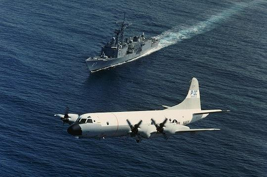 The plant made parts for the Lockheed P-3 Orion, used for maritime surveillance.