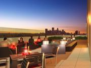 The rooftop terrace at theplanned 36 Park Apartments in St. Louis Park.