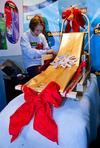 Gift wrap this! (If you can); photos of 3M's national gift-wrapping contest