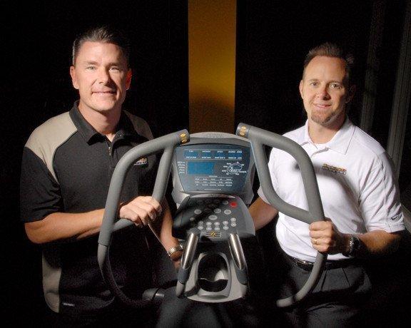 Octane Fitness founders Dennis Lee (left) and Tim Porth.