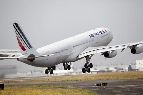 One of the A340s that Air France will fly between Charles de Gaulle Airport in Paris and Minneapolis-St. Paul International Airport.