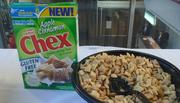 Apple Cinnamon Chex launched in July. It is one of several General Mills foods marketed as gluten free.