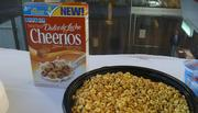 Dulce de Leche is a Spanish term for a thick caramel sauce popular in Latin America. This flavor of Cheerios launched in 2012.