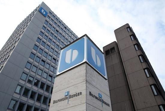 Bilfinger, which used to be Bilfinger Berger, has agreed to buy Johnson Screens for $134 million. This is the company's headquarters in Mannheim, Germany, in a 2011 photo.
