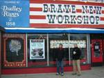 Brave New Workshop building for sale