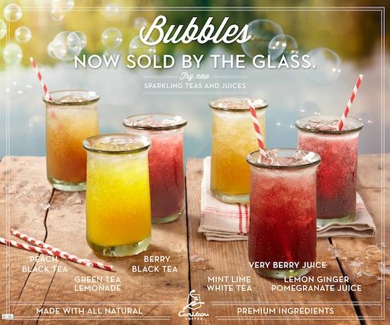 Caribou's new drinks