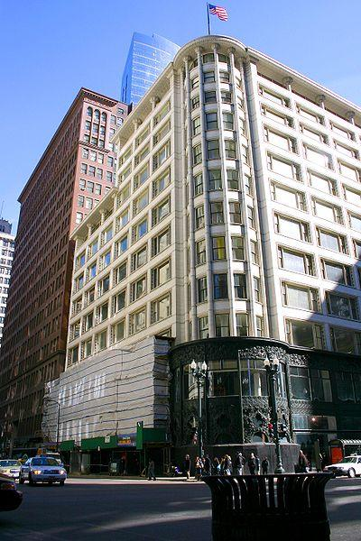 The Carson Pirie Scott building in Chicago, home to the first CityTarget.