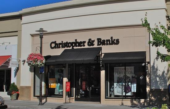 A Christopher & Banks store in Hillsboro, Ore.