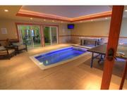The home has an indoor lap pool.