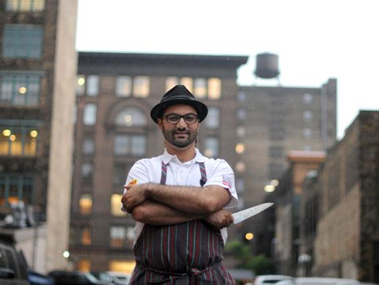 Sameh Wadi, owner of Saffron and World Street Kitchen, and an 2012 Diversity in Business honoree