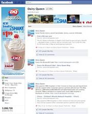 No. 3 —  Dairy Queen —  Likes: 3.29 million