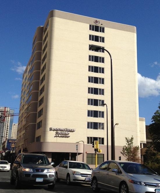 TheDoubleTree Suites by Hilton Minneapolis at 1101 Lasalle Ave.