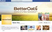 "No. 46 Better Oats 2012 ""Likes"": 80,000 2011 ""Likes"": Not available 2011 rank: Not ranked Increase: Not available"