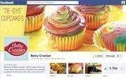 """No. 5 Betty Crocker 2012 """"Likes"""": 1.71 million 2011 """"Likes"""": 1.07 million 2011 rank: 5 Increase: 60 percent"""