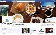 "No. 20 Caribou Coffee 2012 ""Likes"": 299,000 2011 ""Likes"": 226,000 2011 rank: 12 Increase: 32 percent"
