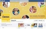 "No. 13 Cheerios 2012 ""Likes"": 739,000 2011 ""Likes"": 492,000 2011 rank: 9 Increase: 50 percent"