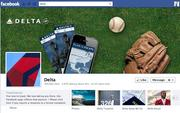 """No. 19 Delta Air Lines 2012 """"Likes"""": 310,000 2011 """"Likes"""": Not available 2011 rank: Not ranked Increase: Not available"""
