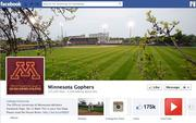 "No. 30 University of Minnesota Gophers Athletics 2012 ""Likes"": 175,000 2011 ""Likes"": Not available 2011 rank: Not ranked Increase: Not available"