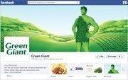 "No. 16 Green Giant 2012 ""Likes"": 398,000 2011 ""Likes"": 156,000 2011 rank: 16 Increase: 155 percent"