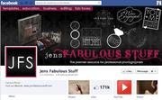 """No. 31 Jens Fabulous Stuff 2012 """"Likes"""": 171,000 2011 """"Likes"""": Not available 2011 rank: Not ranked Increase: Not available"""