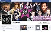 """No. 38 KDWB 2012 """"Likes"""": 112,000 2011 """"Likes"""": Not available 2011 rank: Not ranked Increase: Not available"""