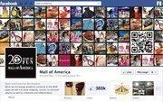"No. 17 Mall of America 2012 ""Likes"": 366,000 2011 ""Likes"": 250,000 2011 rank: 10 Increase: 46 percent"