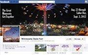 "No. 22 Minnesota State Fair 2012 ""Likes"": 273,000 2011 ""Likes"": 217,000 2011 rank: 13 Increase: 26 percent"