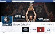 "No. 25 Minnesota Timberwolves 2012 ""Likes"": 203,000 2011 ""Likes"": 91,000 2011 rank: 22 Increase: 123 percent"