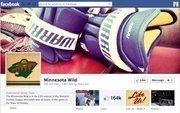 """No. 33 Minnesota Wild 2012 """"Likes"""": 165,000 2011 """"Likes"""": 133,000 2011 rank: 18 Increase: 24 percent"""
