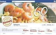 "No. 34 Schwan's 2012 ""Likes"": 164,000 2011 ""Likes"": 114,000 2011 rank: 19 Increase: 44 percent"