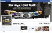 "No. 29 Scotch Duct Tape 2012 ""Likes"": 177,000 2011 ""Likes"": Not available 2011 rank: Not ranked Increase: Not available"