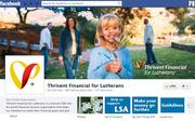 """No. 44 Thrivent Financial for Lutherans 2012 """"Likes"""": 82,000 2011 """"Likes"""": 22,000 2011 rank: 35 Increase: 273 percent"""