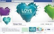 """No. 32 Valspar 2012 """"Likes"""": 168,000 2011 """"Likes"""": 37,000 2011 rank: 31 Increase: 354 percent"""
