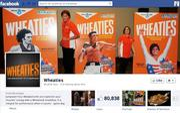 "No. 45 Wheaties 2012 ""Likes"": 81,000 2011 ""Likes"": 51,000 2011 rank: 26 Increase: 59 percent"