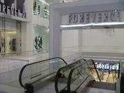 Forever 21's new space spans two floors, occupying 18,000 square feet on the first floor and 63,000 square feet on the previously unoccupied basement level.