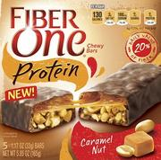 Fiber One Protein bars: There are two flavors — Caramel Nut and Coconut Almond.