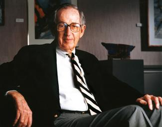 "Harry C. Piper, pictured here, believed that ""one's work should The Piper family provided St. Olaf College with a $2.58 million gift to name and support the Harry C. Piper Center for Vocation and Career. The photo is of Harry Piper."